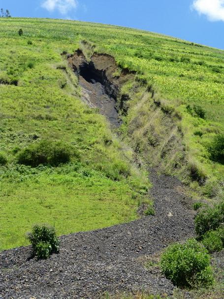 Volcan gasige ascension d collage parapente du gasige - Point de saignee ...