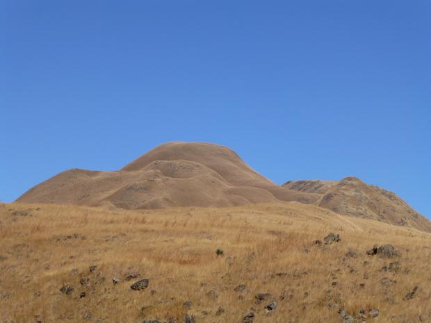 Coulées de lave nord du volcan Andranonatoa