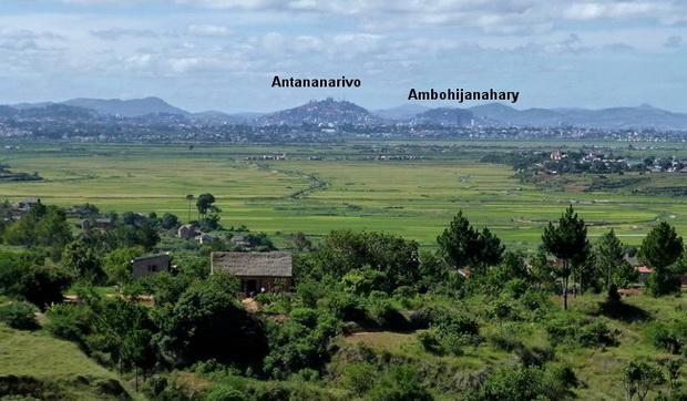 Antananarivo, les marais de Laniera