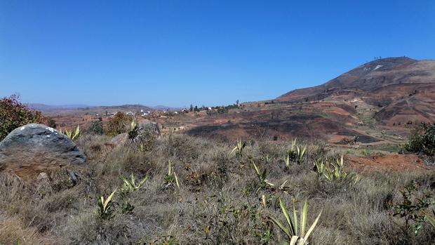massif Ambohimanda village Ambohibao