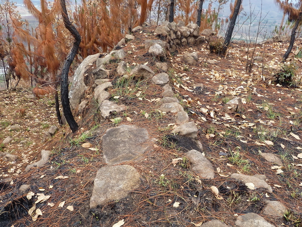 sommets fortifiés murailles