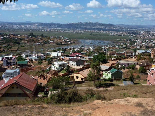 Antananarivo Ouest et le quartier cité 67 Ha
