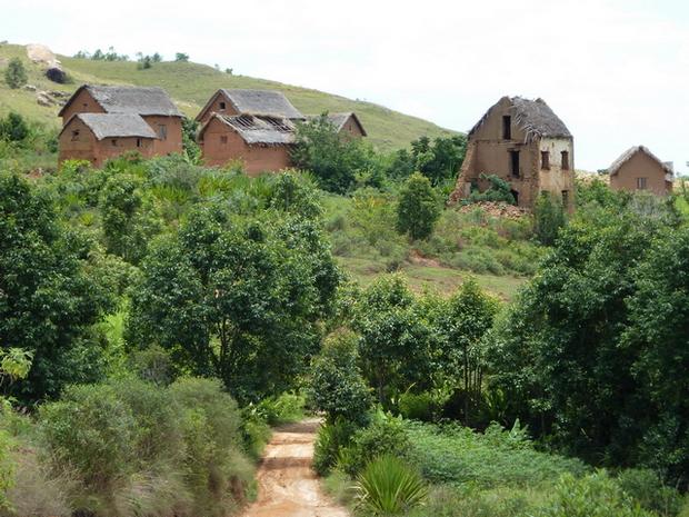ruines du village Antaninandro