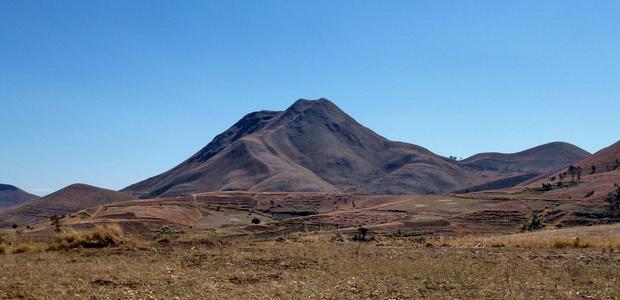 les volcans de l' Itasy dôme Andranonatoa