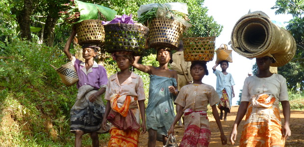 Manakara un jour du marché