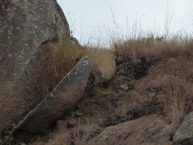 vavahady ancienne entrée du rova et les vestiges de murailles