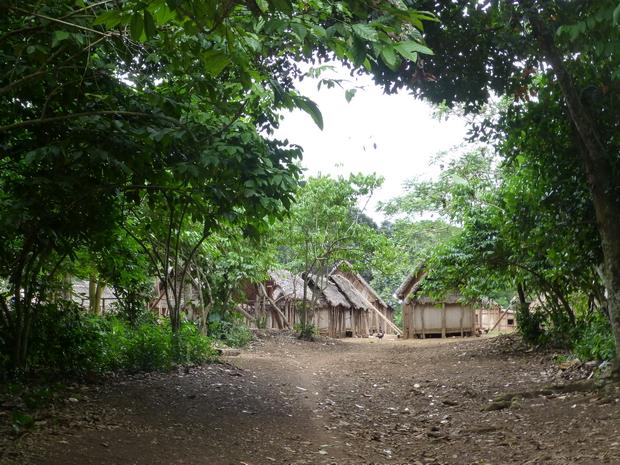 village typique de la côte
