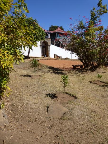 Enceinte Est du Rova d' Ambohimanga