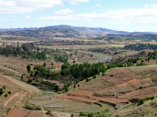 les villages de Ambatoharanana, Merimandroso