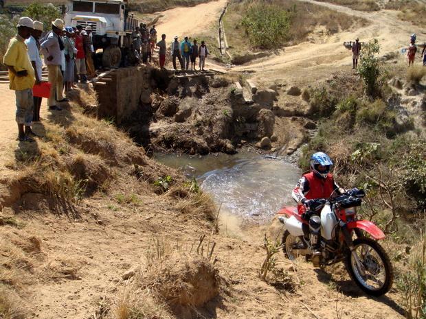 passage rivière