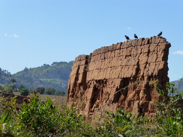Tamboho mur de terre
