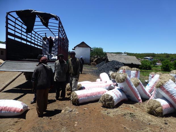 transport charbon de boisg