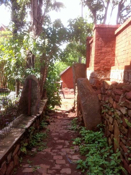 Fiakarana: vavahady entrée du Rova