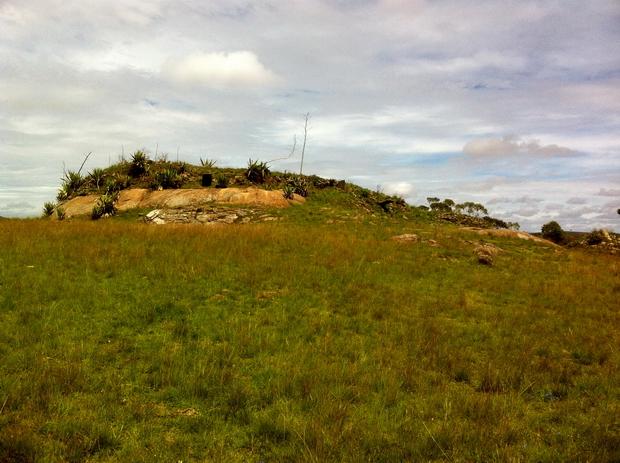 tombeaux sur le sommet