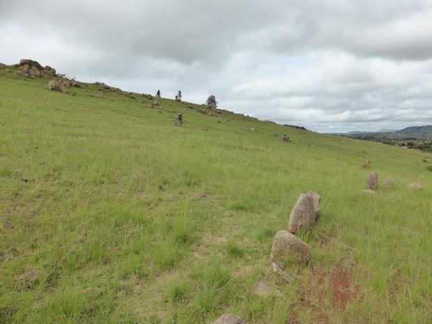flanc nord du massif Mangabe