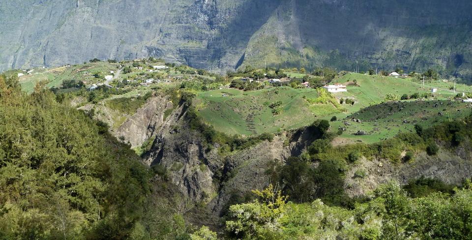 île de la Réunion îlet à Cordes Cilaos La Réunion.