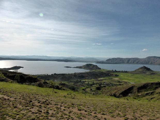 deux îlots : îlot de la Vierge îlot Boisé