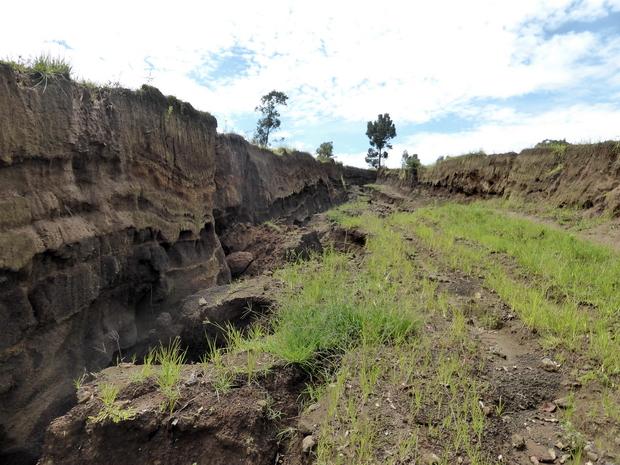 ravines vallée de Toerambazaha