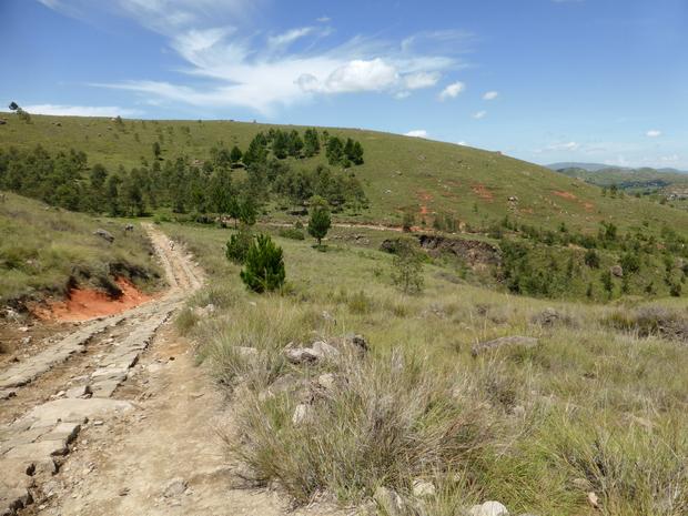 descente vers le lac Hilempo