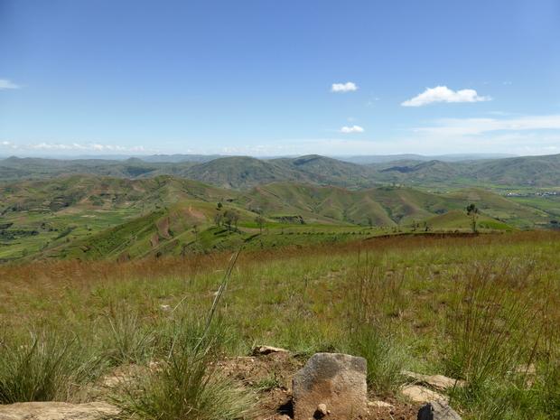 du sommet Akaroka la crête que vous venez de franchir