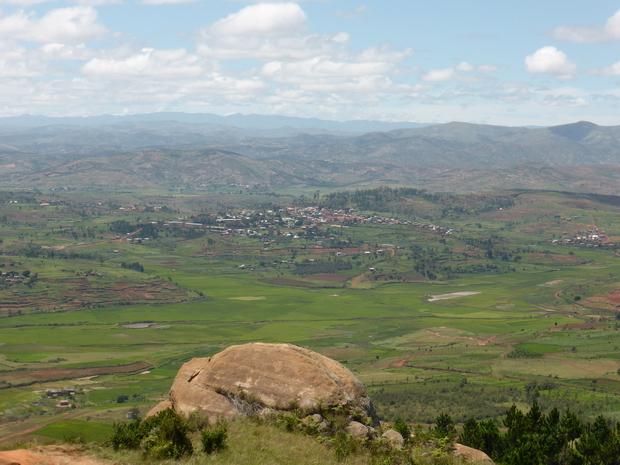 rizières au nord de Manazary