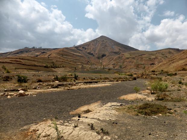 Gassige : dépôts charriés par les eaux