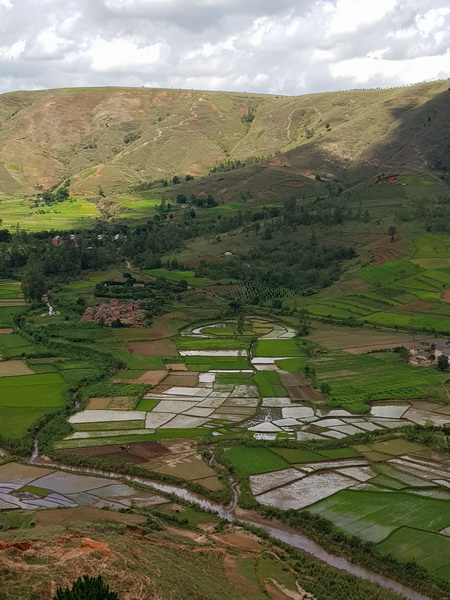 rizière village Sahora