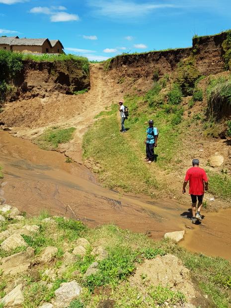 rivière Andalatapaka village Vazimba